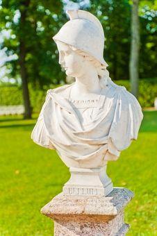Free Tsarskoye Selo. Catherine Park. Bust Bellum Stock Photo - 26106730