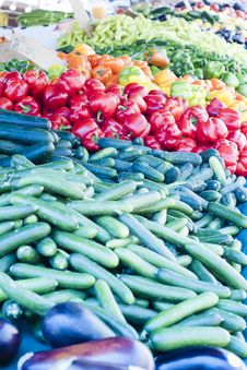 Free Vegetable Variety Royalty Free Stock Photos - 26106778