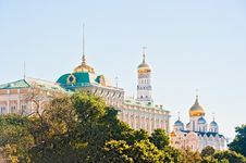 The Kremlin, Moscow, The Kremlin Palace Royalty Free Stock Photography