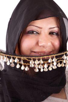 Free Beautiful Bedouin Woman Royalty Free Stock Image - 26108756