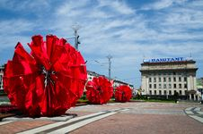 Minsk, Belarus On July 3 Royalty Free Stock Image