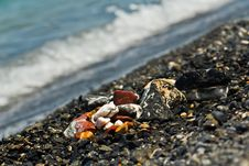 Free Colored Stones At The Seaside Stock Photography - 26117772