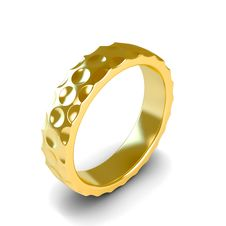 Free Wedding Gold Ring Stock Images - 26119644
