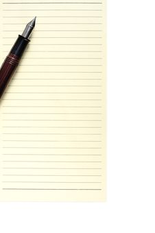 Free Pen On Notebook Stock Images - 26121034