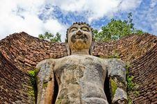 Free Buddha Image In Wat Phra Si Lriyabot At Kamphaeng Stock Image - 26124211