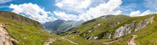 Alps, France &x28;Way To Les Chapieux&x29; - Panorama Stock Photography