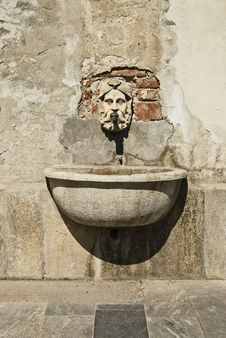 Ancient Fountain Stock Images