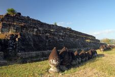 Free Walls On Ratuboko Castle Royalty Free Stock Photo - 26129105