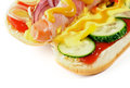 Free Inside View Of Hot Dog Stock Photography - 26131412
