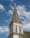 Free Old Wooden Church Steeple. Royalty Free Stock Image - 26135976