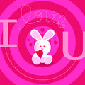 Free Love U Card Royalty Free Stock Photography - 26137907