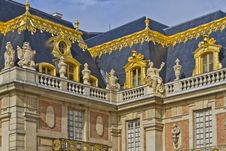 Free Front Facade Of Famous Palace Versailles Stock Photo - 26130240