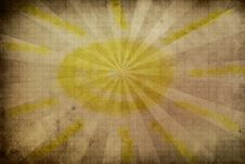 Grunge Sun Background Royalty Free Stock Photos