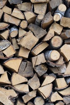 Free Firewood Background Stock Photography - 26131482