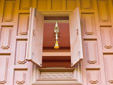 Free Window For Old Thai House Style Stock Photo - 26133440