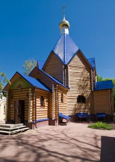 Free Wooden Church Royalty Free Stock Image - 26133596