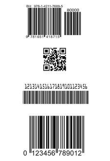 Free Set Of Fake Barcodes Royalty Free Stock Image - 26135056