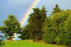 Free Rainbow Royalty Free Stock Photo - 26136905