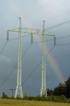 Free Rainbow Royalty Free Stock Photography - 26137017