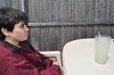 Free Unhappy Boy Stock Photos - 26137393