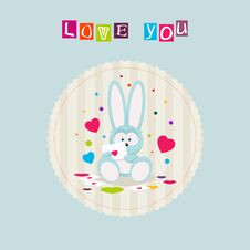 Bunny Love Royalty Free Stock Images