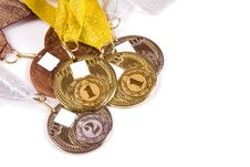 Free Kit Of The Medals Royalty Free Stock Photo - 26138735