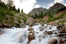 Free Mountain River Royalty Free Stock Image - 26138786