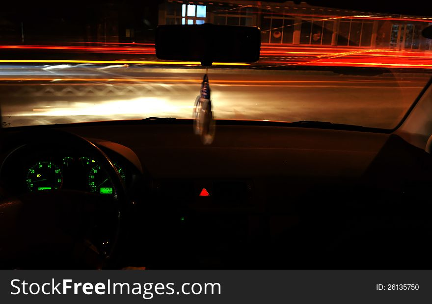 Night time driving