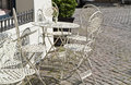 Free Cafe With Old Vintage Chairs Royalty Free Stock Photography - 26142467