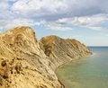 Free The Mountain Range Surrounds The Sea Bay Royalty Free Stock Photo - 26147025