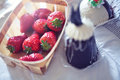 Free Basket Of Strawberries Stock Photos - 26147923