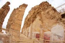 Free Masada Fortress Stock Photography - 26140012