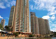 Free Apartment Buildings, Brisbane, Australia Stock Images - 26141974