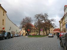 Free City Street And Building.  Prague Royalty Free Stock Photos - 26142158