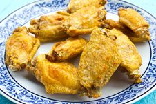 Free Fried Chicken Wings Royalty Free Stock Images - 26144439