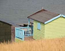 Free Holiday Beach Hut Stock Photography - 26146862