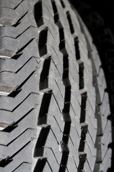 Free Truck Tire Tread Royalty Free Stock Photography - 26149527