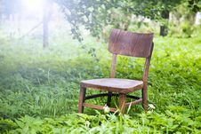 Free Wooden Chair Stock Photo - 26150120