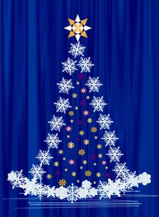 Free Christmas Tree Stock Photography - 26153782