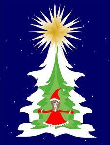 Free Christmas Tree Stock Photos - 26153793