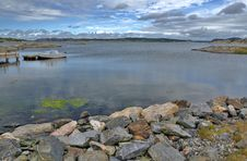 Free Traveling By Swedish Coast Stock Photography - 26153912