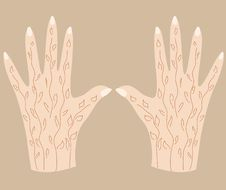 Free Hands With Henna-3 Stock Photo - 26155380