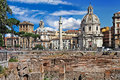 Free Roman Landmarks. Forums Stock Photo - 26160760
