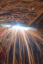 Free Worker Welding Metal. Production And Construction Royalty Free Stock Image - 26163776