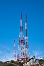 Free Modern Communication Towers Royalty Free Stock Photos - 26164368