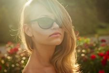 Free Portret Of Young Sexy Model Outdoor 4 Stock Image - 26161851