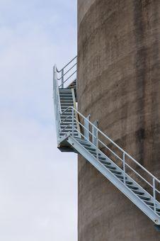 Free Silo Stairs Stock Image - 26165811