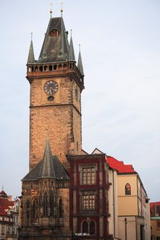 Prague Town Hall Royalty Free Stock Images