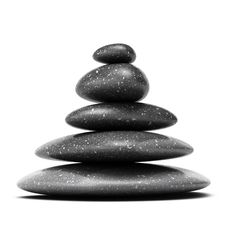 Pebbles Stack, Stones Arrangement, Pyramid Royalty Free Stock Images