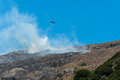 Free Helicopter Fighting A Bushfire Royalty Free Stock Photography - 26170227